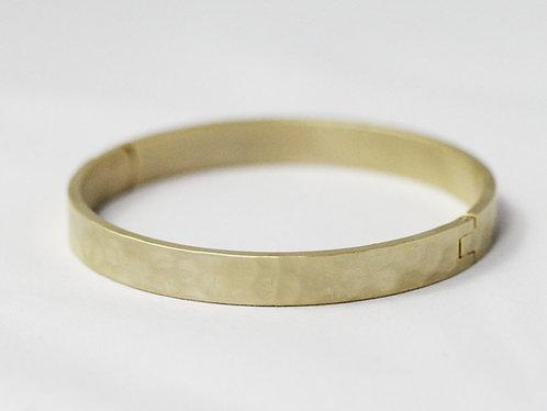 Classic Hammered Bracelet