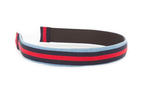 Diana Multi-stripe Fabric Headband