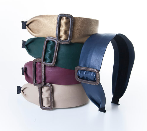 Buckle Faux Leather HB