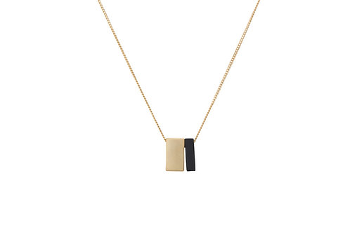 Sandra Mini Blocks Necklace