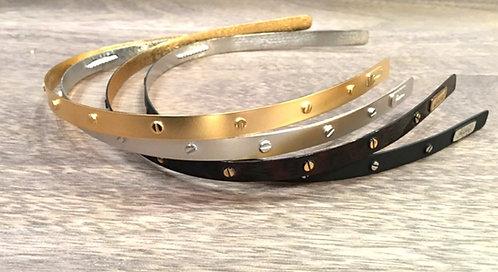 Metal Stud Headbands - Vintage