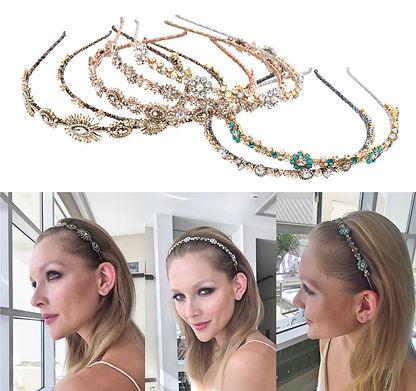 Ficcare Crystal Headbands
