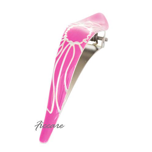 """Maximas Lotus """"Happy"""" Bubblegum Pink (Silver)"""