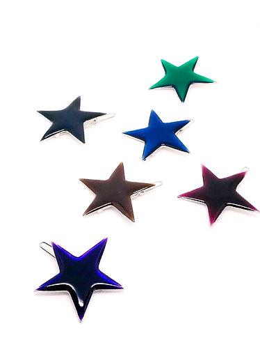 Lucky Star Jewel Tones Pins
