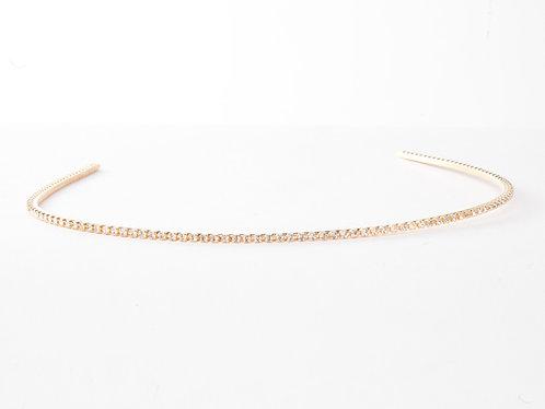 Single Arch Glittery Headband