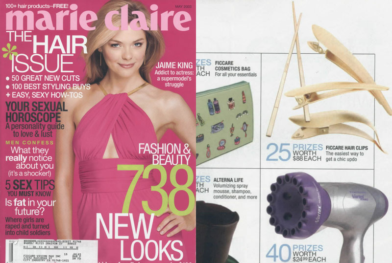 Ficcare in Marie Claire