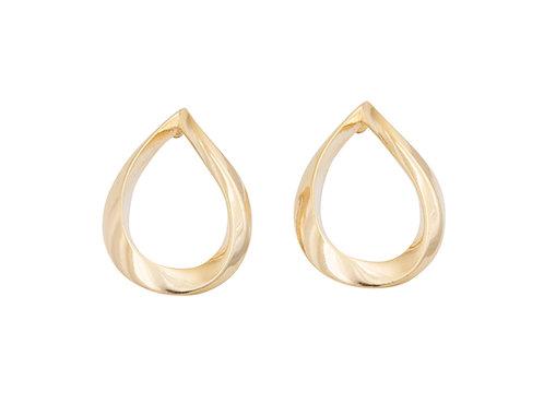 Nouveau Tear Drop Stud Earrings