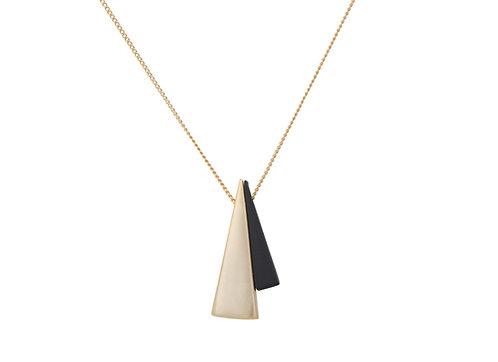 Amber Mini Cone Necklace