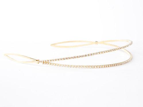 2-Arch Glittery Knot Headband