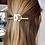 Thumbnail: Infinity Stick Slide Barrettes (Gold Shiny)