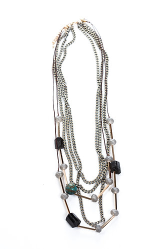 Gabriella Multi-Chain Necklace