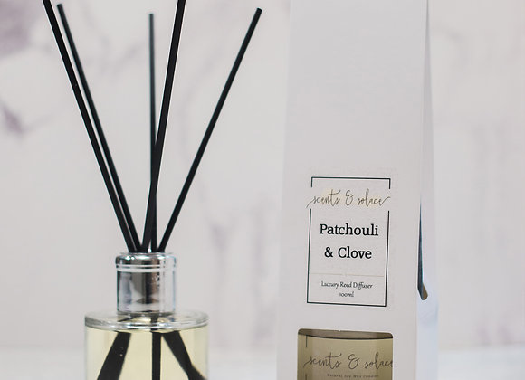 Luxury Reed Diffuser Patchouli & Clove