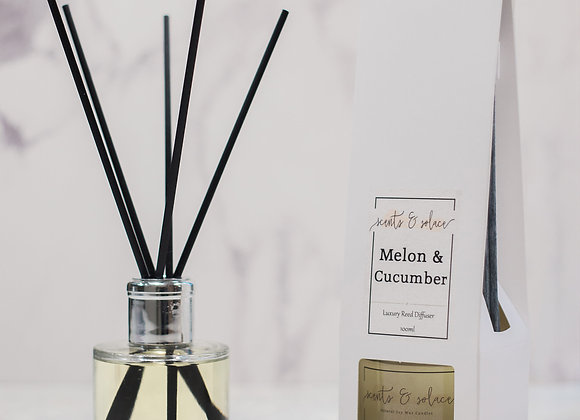 Luxury Reed Diffuser English Pear & Vanilla