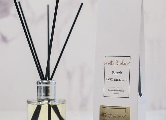 Luxury Reed Diffuser Black Pomegranate
