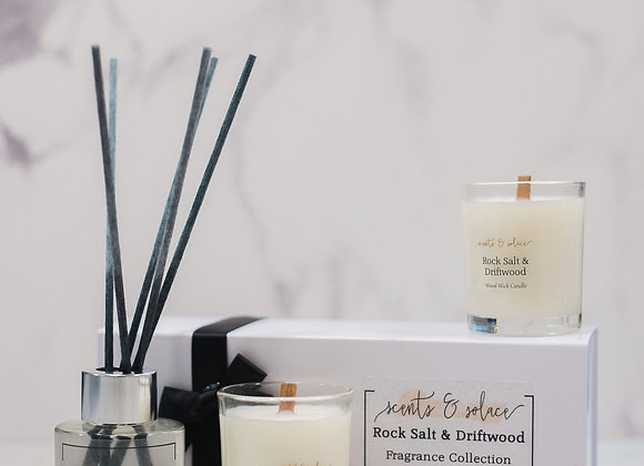 Rock Salt & Driftwood Fragrance Collection