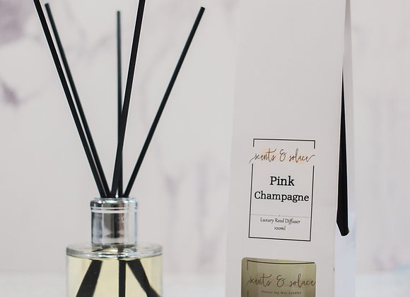 Luxury Reed Diffuser Pink Champagne
