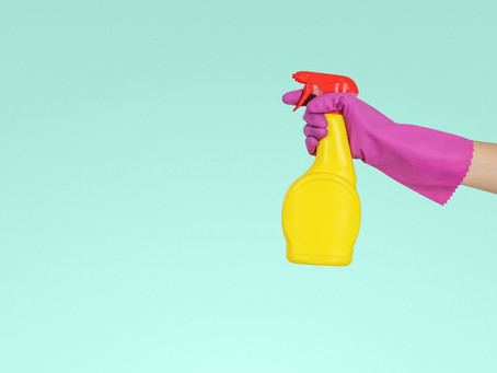A Kickoff to Spring (or anytime) Cleaning