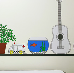 Treatment Room Distraction Vinyl Designs