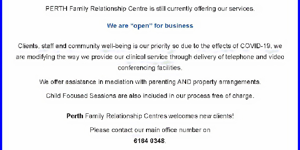 Perth Family Relationship Centre
