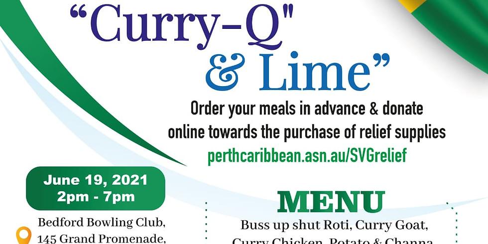 """(Fwd) """"Curry-Q"""" & Lime SVG La Soufrière Volcano Relief fundraiser!"""