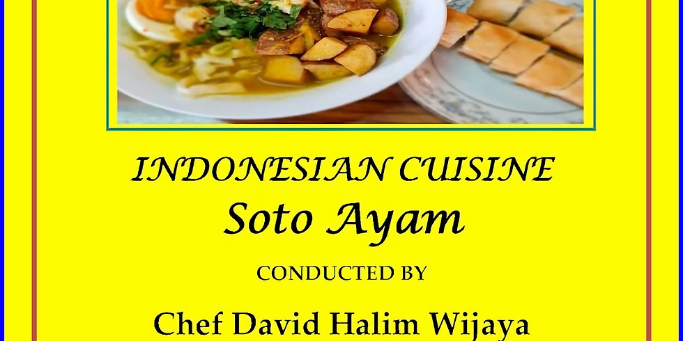 (Fwd) WAMA...Cooking Lessons...Indonesian Cuisine...Saturday 29 May 10.00 to 12.00 Tuart College.