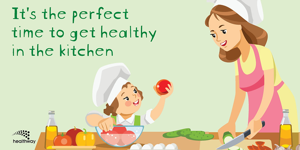 It is the perfect time to get healthy in the kitchen