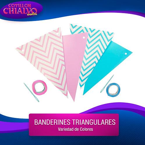 Banderin triangulares
