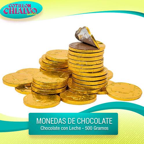 Moneditas de chocolate