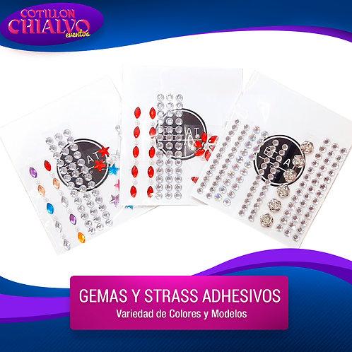 Gema y Strass adhesivos