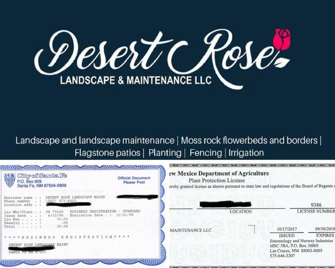 20 Years for Desert Rose Landscape!