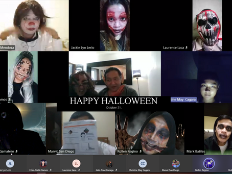 Virtual Halloween Party!