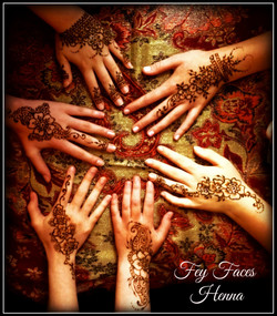 Fey Faces Henna Party