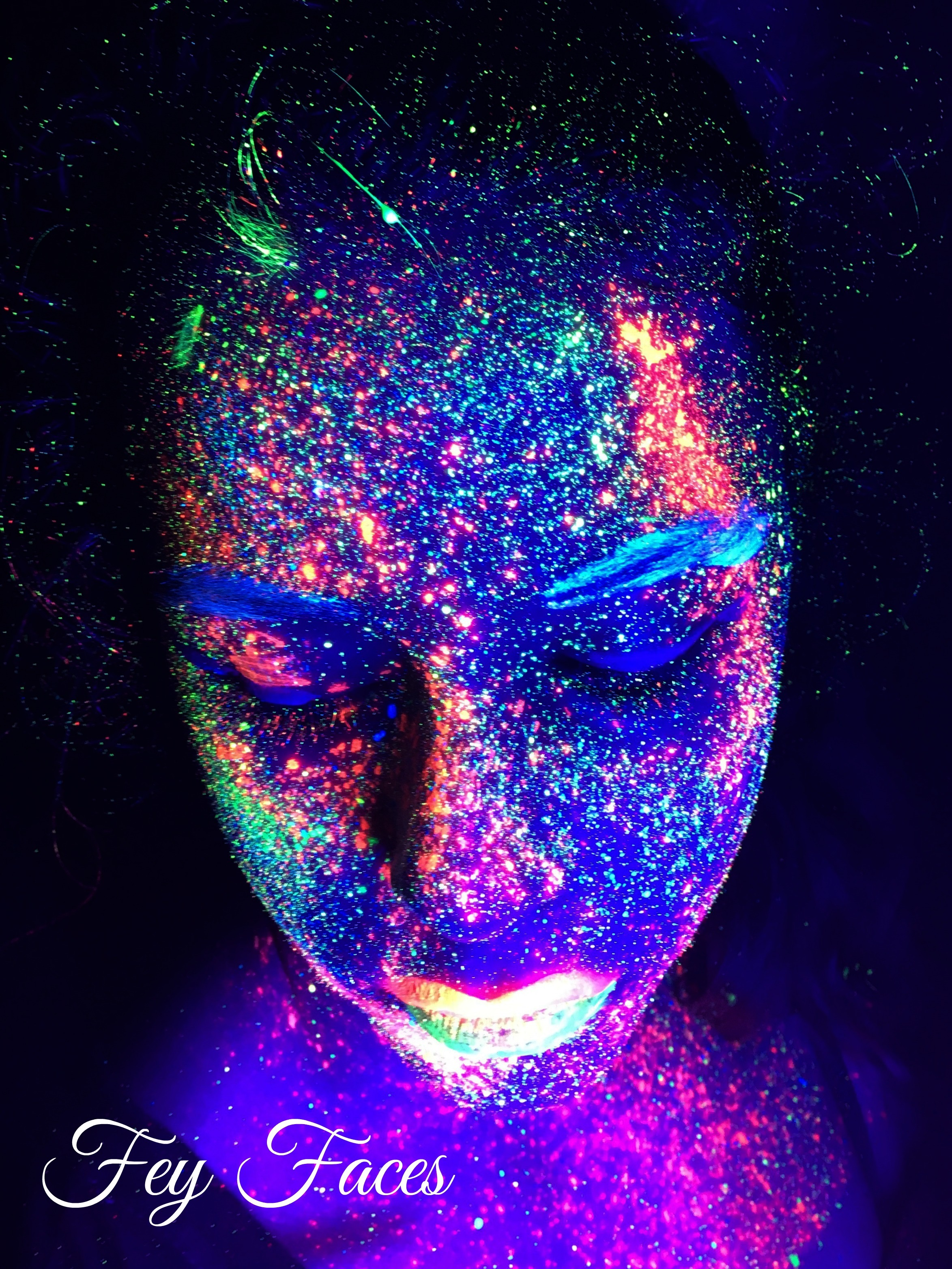 UV painting by Fey Faces