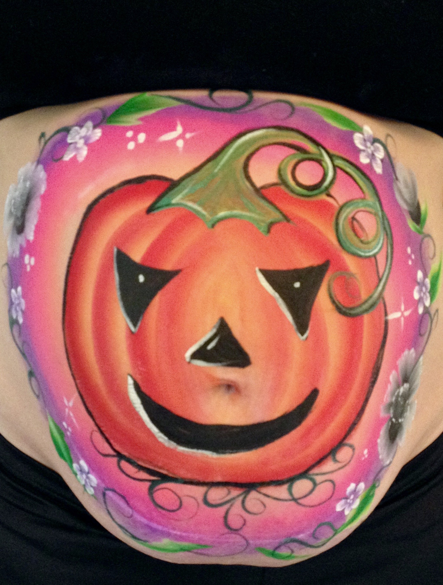 Pumpkin Bump Painting