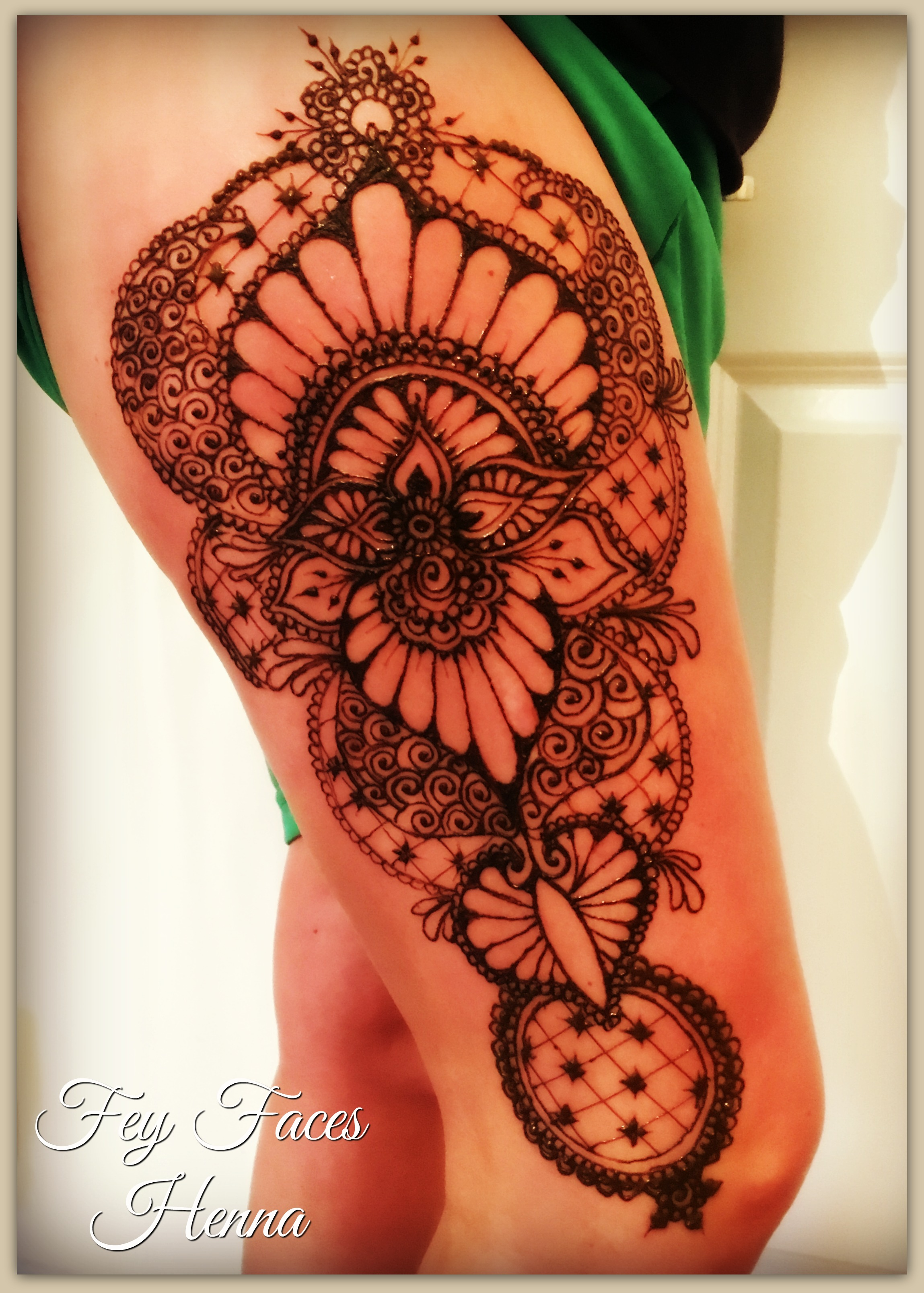 Fey Faces Henna Oxfordshire