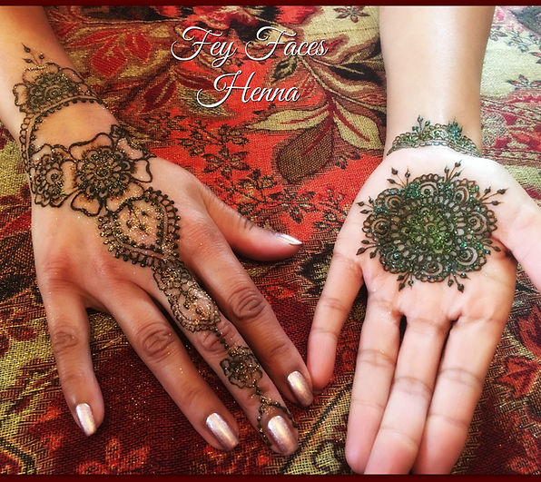 Henna Tattoo by Fey Faces Oxfordshire