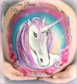 Unicorn Bump Painting