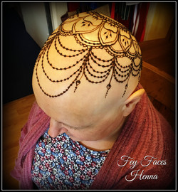 Henna Crown by Fey Faces Oxfordshire