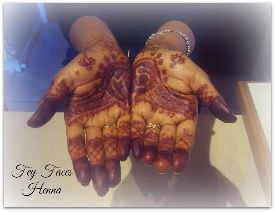 Wedding henna by Fey Faces Henna
