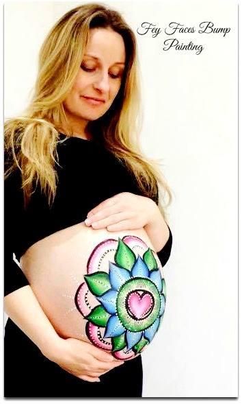 Mandala bump art