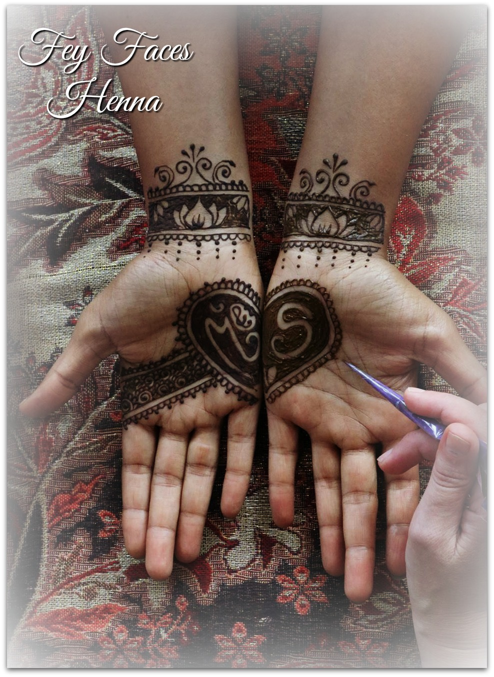 Wedding design by Fey Faces Henna