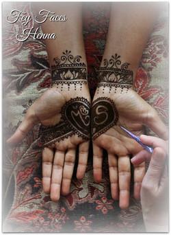 Wedding design by Fey Faces Henna