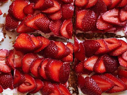 Strawberries and Saucisson Sec