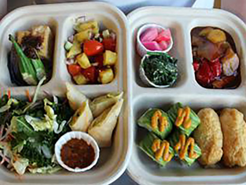 Bento boxes, brats and blooms!