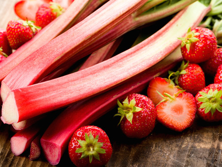 Rhubarb, Radishes and Glean on Me