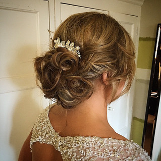 Booked my first wedding hair abroad