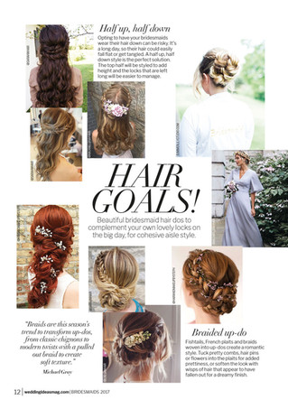 Wedding Ideas Hair Feature