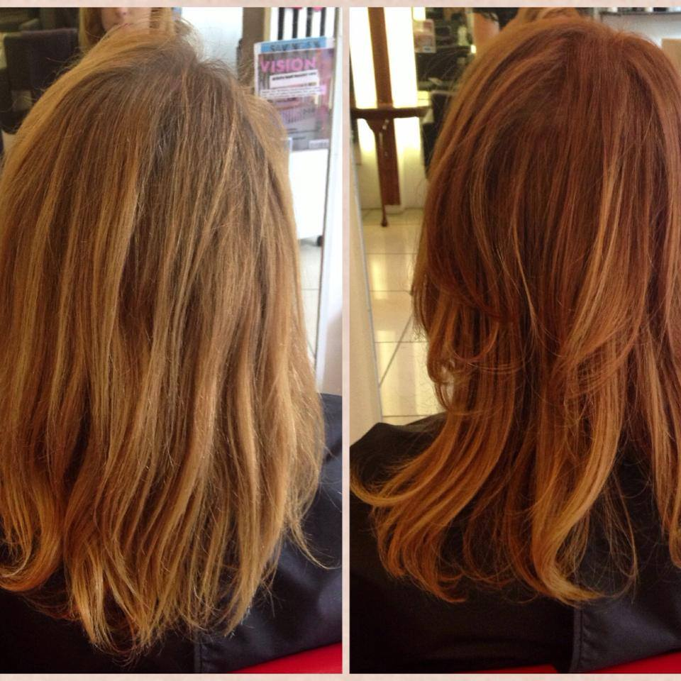Colour Change (Balayage)