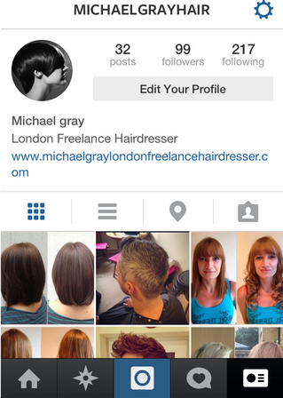"New Instagram account ""MichaelGrayHair"""