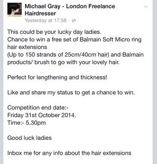 Win a free set of Balmain Soft Micro Ring Hair Extensions
